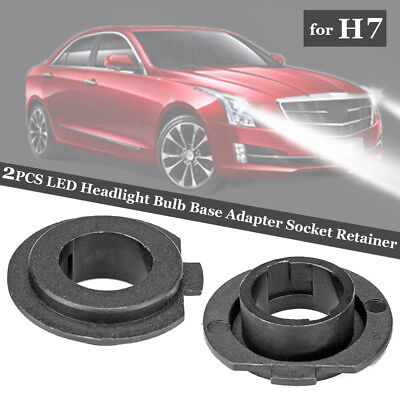 1 Pair H7 LED Headlight Bulb Base Adapter Socket Retainer Holder Useful New 2019 for sale  Shipping to Ireland