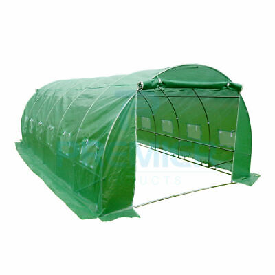 POLYTUNNEL GREENHOUSE Garden patio FRAME weather resistant UV protection 6x3 m