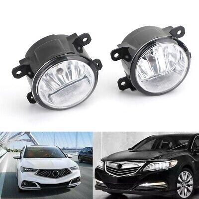 Passenger & Driver Fog Light For 2011-2015 Acura Honda Tsx Rdx Tl ILX CR-V Pilot