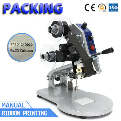 Dy-8 Manual Hot Stamp Coding Date Printing Machine Bagfilm Batch Date Printer
