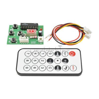 Dc 5v 2-phase Stepper Motor Driver Controller Board Adjustable Speed Remote