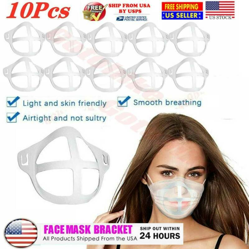 10Pcs 3D Mask Bracket Cool Turtle Insert Support Frame Comfortable Cover