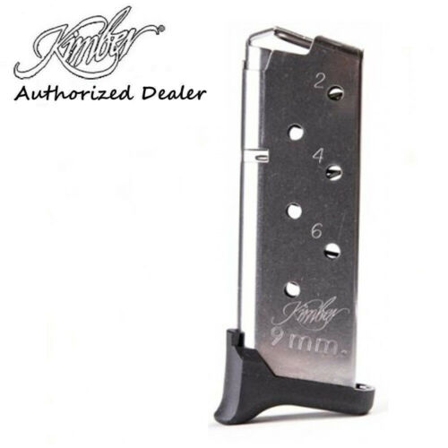 """Kimber Micro 9, 9mm 7Rd Magazine Special Edition, Rapide """"Black Ice""""   1200910A"""