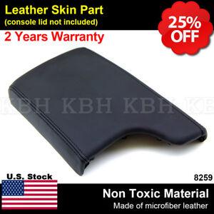 Leather Armrest Center Console Lid Cover Fits Pontiac Grand Prix 2004-2008 Black
