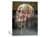 Dripping Skull 3D Picture - Brand New Still in Packaging - Nemesis Now