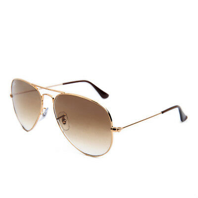 Ray-Ban Aviator Large RB3025 001/51 58 Gold Brown Gradient Sonnenbrille