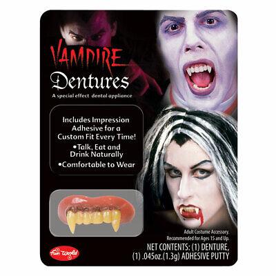 Deluxe Vampir Zähne Erwachsene Halloween Kostüm Zubehör Vampir - Erwachsene Vampir Zähne