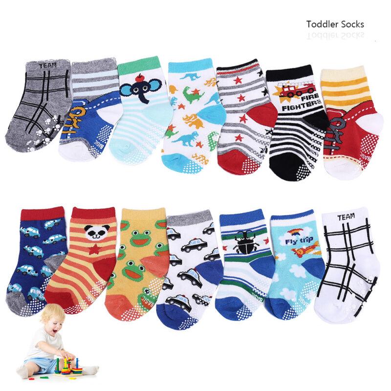 14 Paar Baby.Jungen Mädchen Socken.Strümpfe.Anti Rutsch.ABS.Baumwolle R