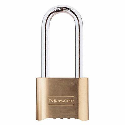 Master Lock 175lh 2 X 2-14 Brass Padlock Set Your Own Combination