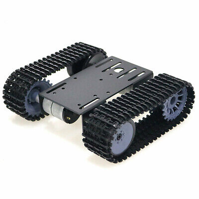 Tracked Robot Smart Car Platform Robotics Kits Robot Tank Crawler Diy Kit F9w5