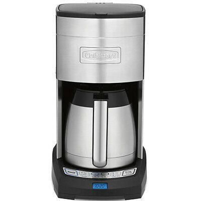 Cuisinart DCC3750 Elite 10-Cup 24 Hr Programmable Coffee Maker, Stainless Insulate