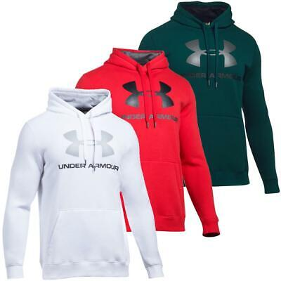 Under Armour Rival Fleece Fitted Graphic Hoodie Sweatshirt Kapuzenpullover Pulli Fleece-pullover Sweatshirt Hoodie