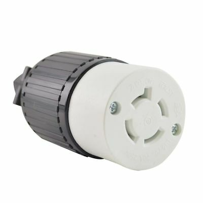 Yga029f Twist Lock Electrical Receptacle 4p 20a 250v - Nema L15-20c