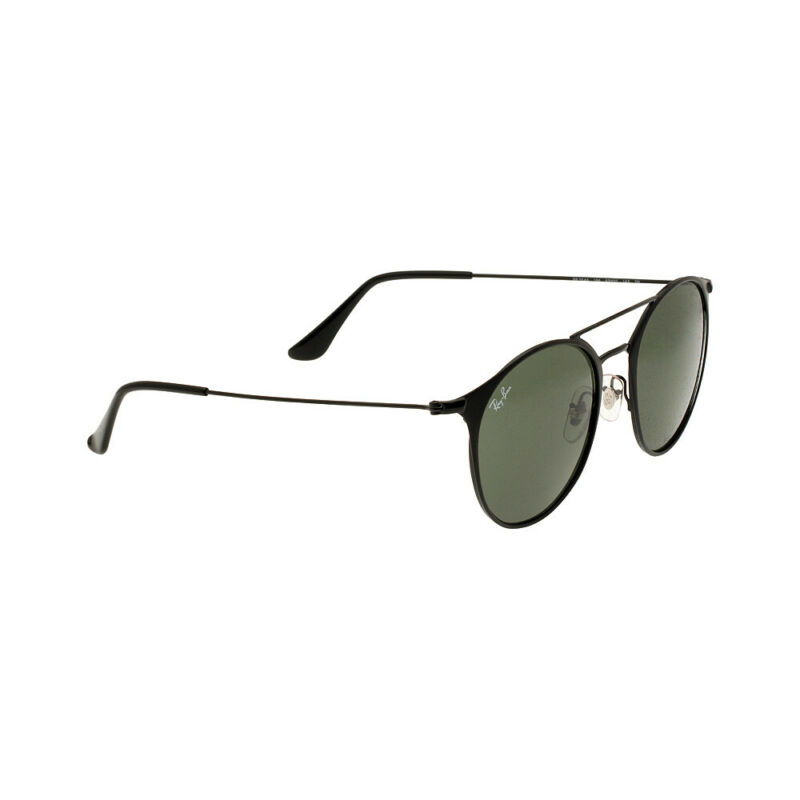 Ray-Ban Steel Frame Green Classic Lens Unisex Sunglasses RB3546
