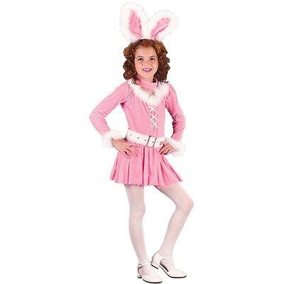 Honey Bunny Pink Fluffy Sweet Rabbit Girls Dress Costume Small BRAND NEW - Sweet Bunny Costume