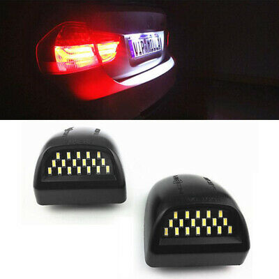 Fits For 1999-2013 Chevy Silverado Avalanche SMD LED License Plate Lights Lamp