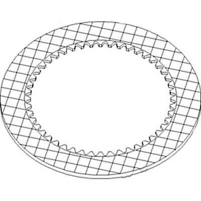 86990276 New Friction Disc Fits Case-ih Tractor Models 7010 8010 Mx210