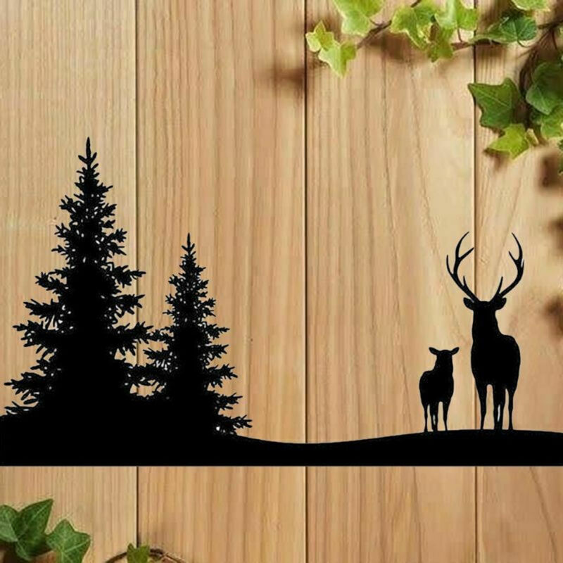 Gorgeous Christmas Metal Die Stencil Reindeer Trees Christmas Crafts Cards UK