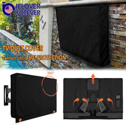 """40""""-65"""" TV Cover Outdoor Patio Flat LCD Screen Weatherproof"""