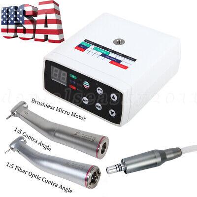 Dental Nsk Style Brushless Led Electric Micro Motor 15 Increasing Handpiece Us