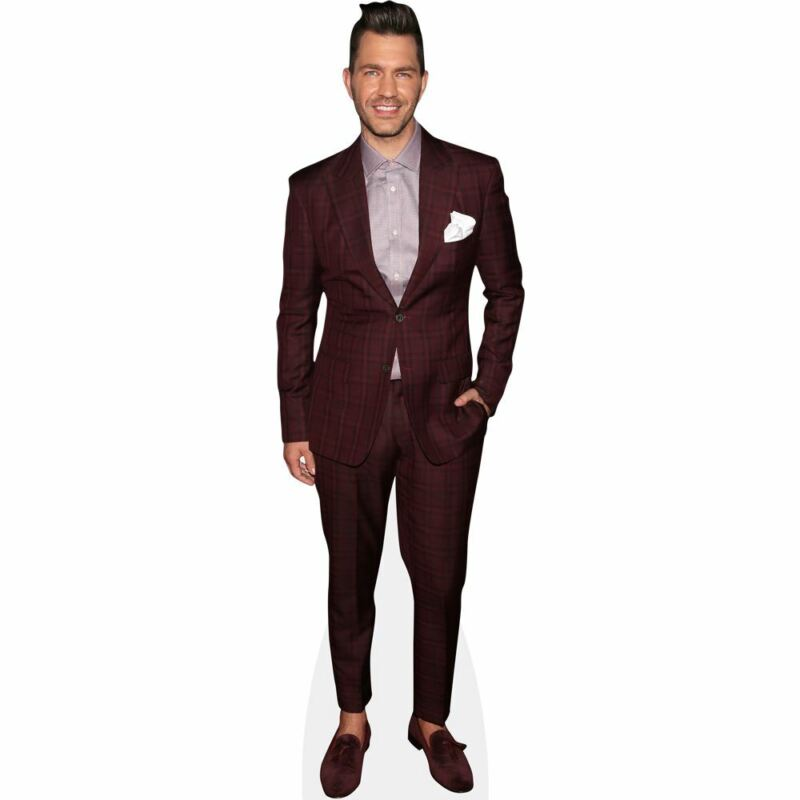 Andy Grammer (Red Suit) Life Size Cutout