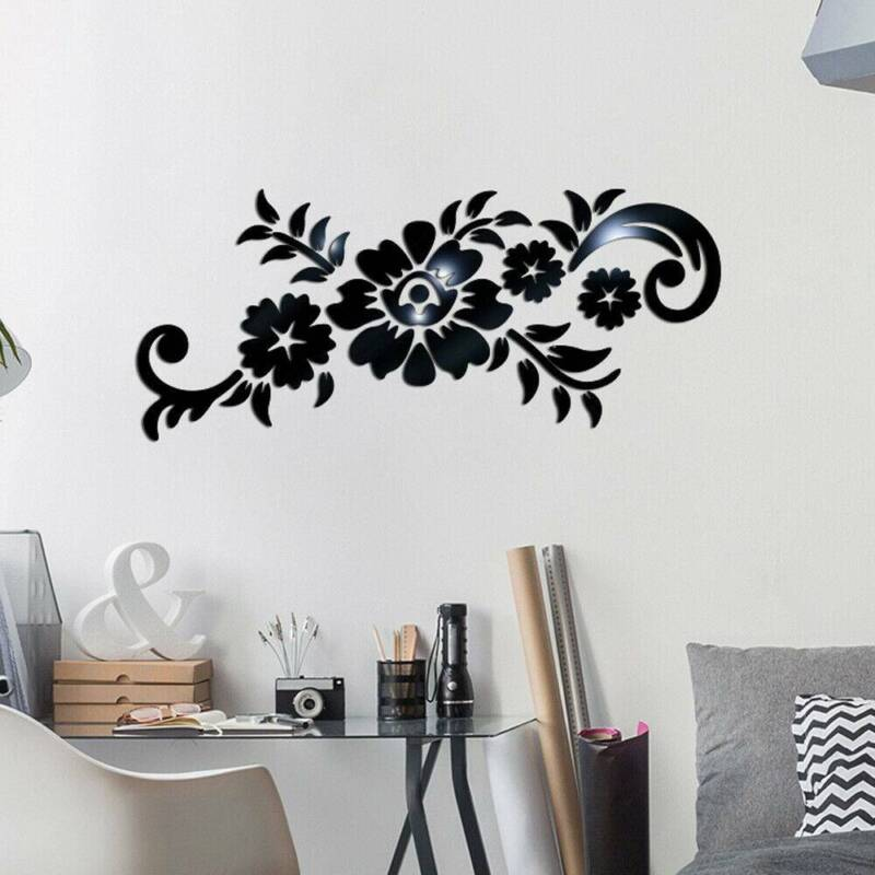 Removable Mirror Mural Decal Decor*