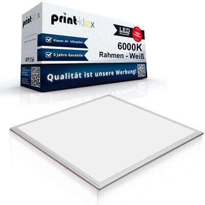 Premium LED Panel Slim 60x60cm 6000K Deckenlampe Strahler 50W Weiß-Color Serie online kaufen