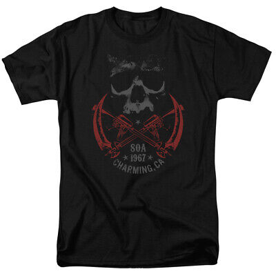 Sons of Anarchy 1967 Charming CA  Men's T-shirt STD Fit  - Anarchy Fitted T-shirt