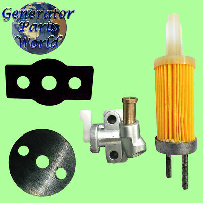 4 Fuel Filter Shutoff W Gaskets For Amico Tank Diesel Generator Water Pump