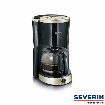 Titan Kaffeemaschine (SEVERIN Kaffeeautomat Kaffeekocher Kaffeemaschine »SELECT« KA 4490 schwarz-titan)