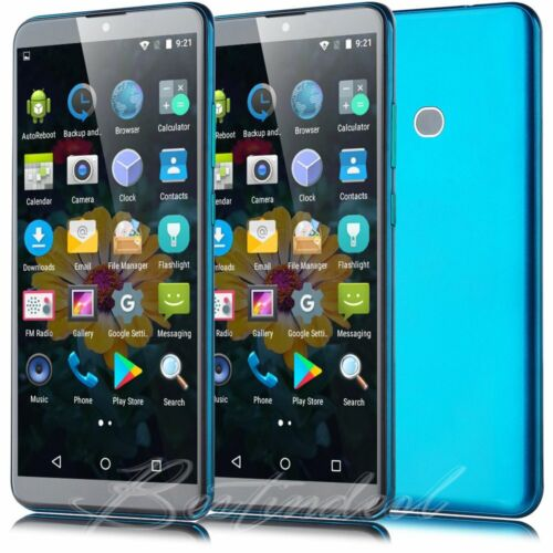 Android Phone - Large Screen Smartphone Android 8.1 Quad Core 2SIM Unlocked Mobile Cell Phone UK