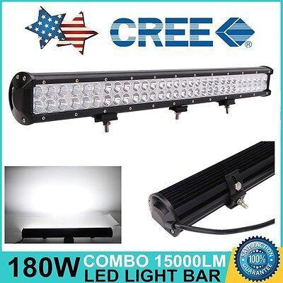 "28""inch 180W LED Work Light Bar Flood Spot Combo Work Lamp OffRoad UTV 4WD 26/30"