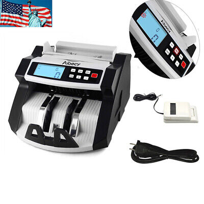 Money Cash Automatic Counter Bank Machine Currency Counting Uvmg Counterfeit