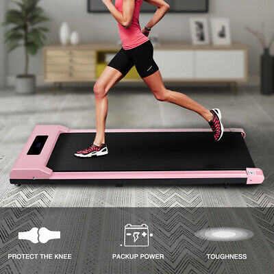 Electric Treadmill Running/Walking Pad Machine Fitness Home Cardio Exercise UK