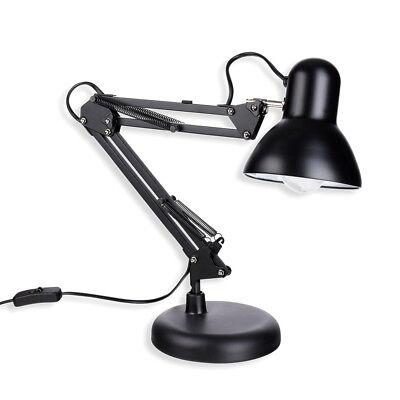 Schramm® Retro Schreibtischlampe Lampe aus Metall  Arbeitslampe Bürolampe ()