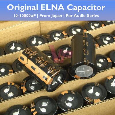 510pcs Original Japanese Elna Capacitor Audio Electrolyticnon-polar 10-10000uf