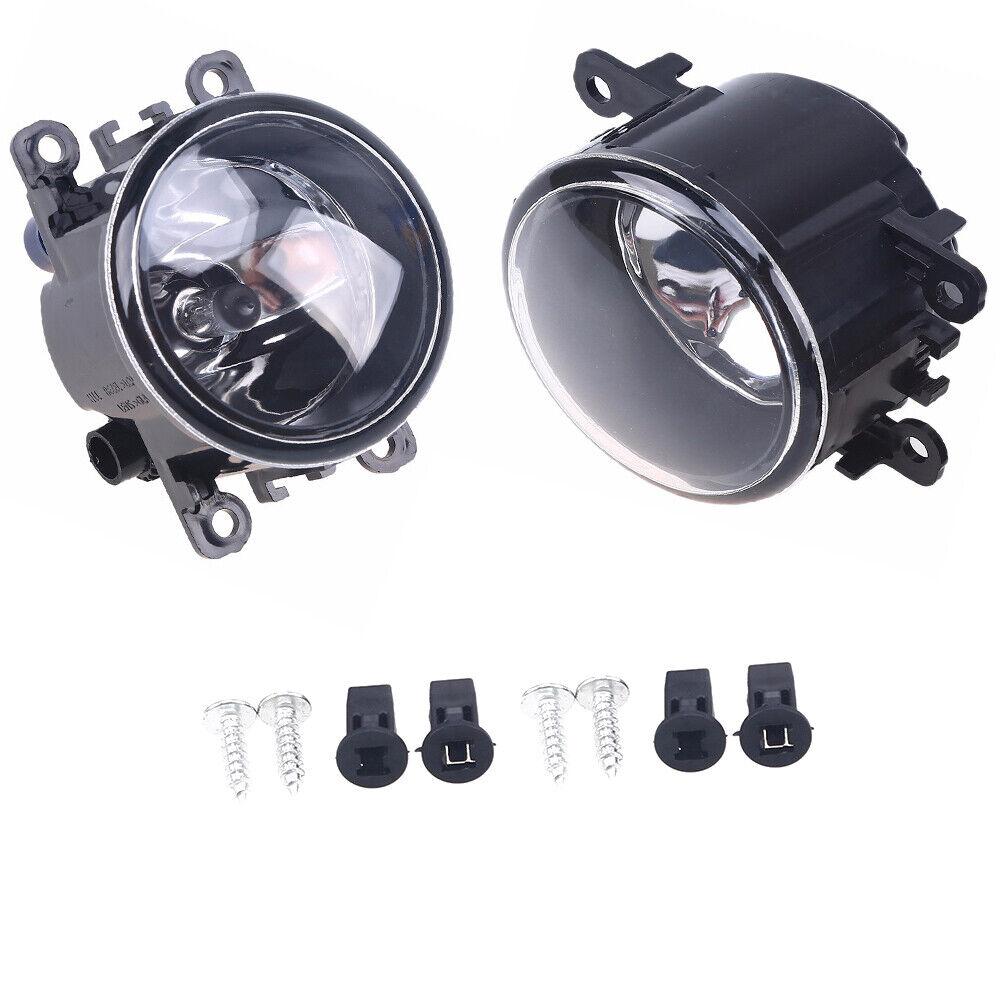 Lh U0026rh Fog Light Bumper Lamp W  Bulb K Fit For Dacia Duster