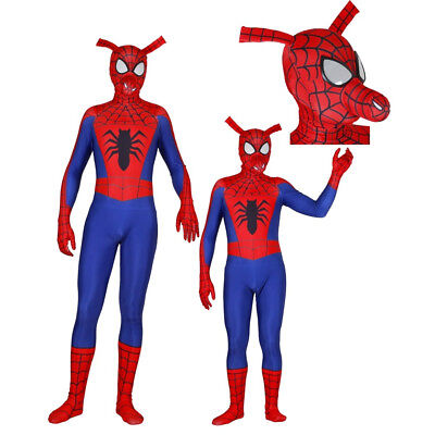 Spider-Ham Peter Porker Adult Kids Halloween Cosplay Bodysuit - Kids Spider Halloween Costume
