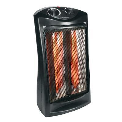 Comfort Zone 1500-Watt Electric Quartz Infrared Radiant Tower covid 19 (Electric Infrared Radiant Heaters coronavirus)