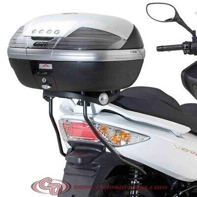 Kit Anclajes Givi para BAUL sistema monolock KYMCO XCITING 500 2010-