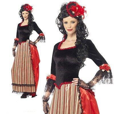 Damen West Stadt Sweetheart Cowboys Indianer Salon Kostüm Verkleidung - Kostüm Stadt