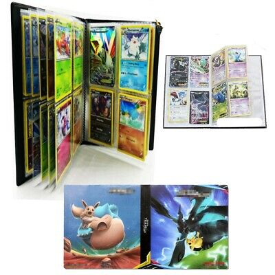 Pokemon 240 Cards Album Book Binder List Card Collectors Capacity Holder