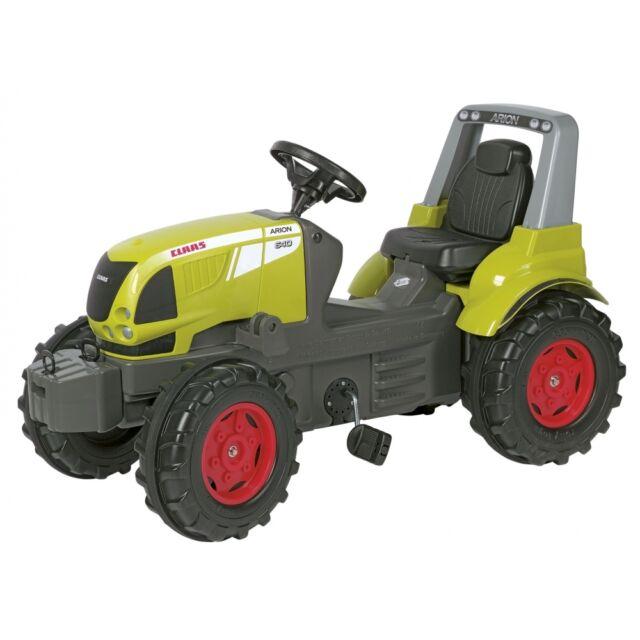 Rolly Toys Claas Arion 640 Traktor ohne Frontlader und Motorhaube zum öffnen,