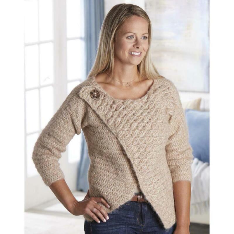 Nob Hill™ Wonderful Wedge Sweater Yarn Kit