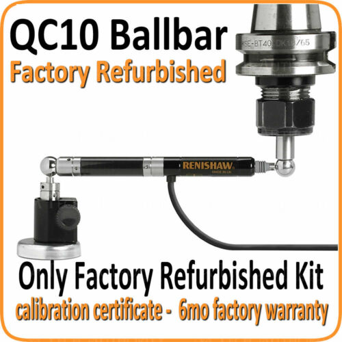 Renishaw Refurbished QC10 Ballbar Kit