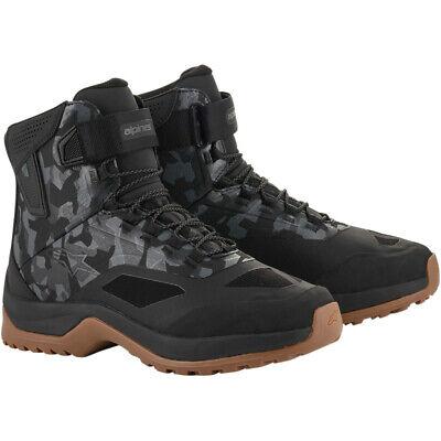 Alpinestars CR-6 DRYSTAR Riding Shoes (Black / Gray / Gunmetal) 11.5
