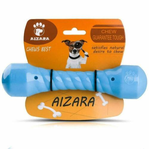 Chew Toys for Aggressive Chewers, Indestructible Dog Toys Tough Rubber Bone Toys