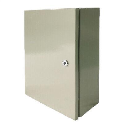 20 X 12 X 8 In Carbon Steel Electrical Enclosure Cabinet 16 Gauge Ip65