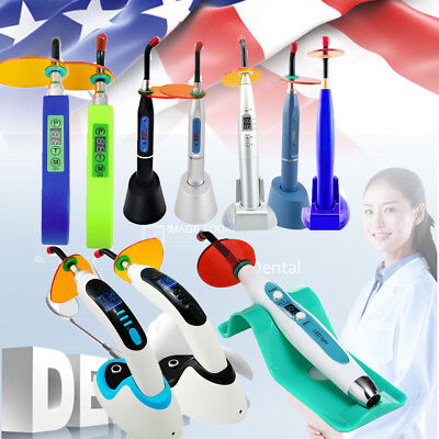 Dental 5w10w Wireless Cordless Led Tooth Curing Light Lamp 150018002000mw Us