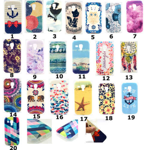 Rubber Soft TPU Silicone Phone Back Case Cover For Samsung Galaxy Smart Phones